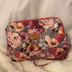 🌺 Sale 🌟FLORAL GENUINE LEATHER
